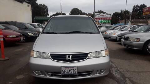 2004 Honda Odyssey for sale at Goleta Motors in Goleta CA