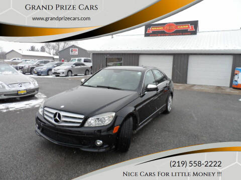 2008 Mercedes-Benz C-Class for sale at Grand Prize Cars in Cedar Lake IN
