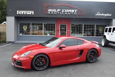 2015 Porsche Cayman for sale at Gulf Coast Exotic Auto in Biloxi MS