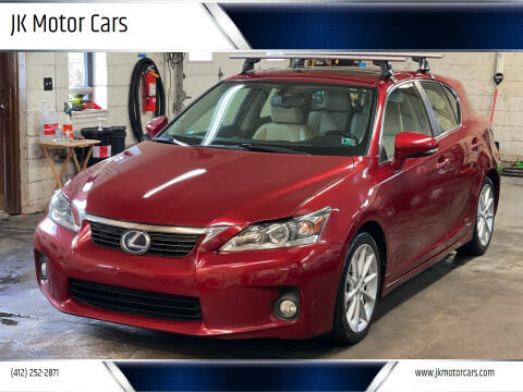 2011 Lexus CT 200h for sale at JK Motor Cars in Pittsburgh PA