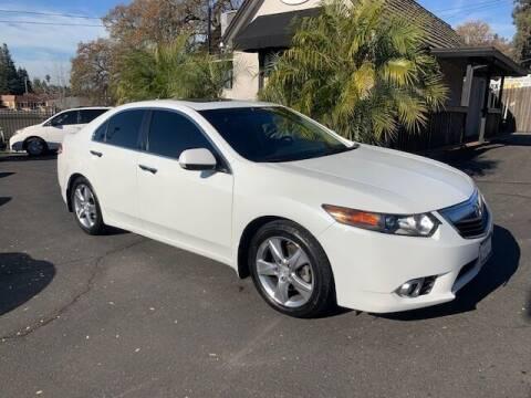 2012 Acura TSX for sale at Three Bridges Auto Sales in Fair Oaks CA