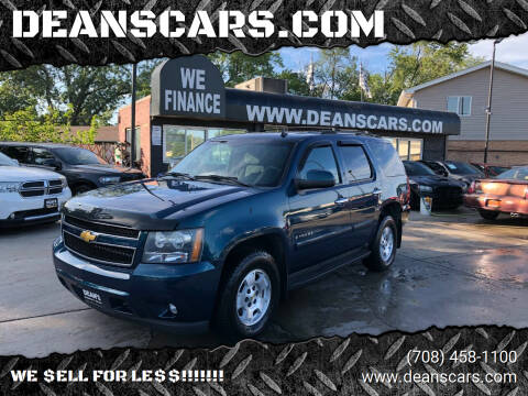 2007 Chevrolet Tahoe for sale at DEANSCARS.COM in Bridgeview IL