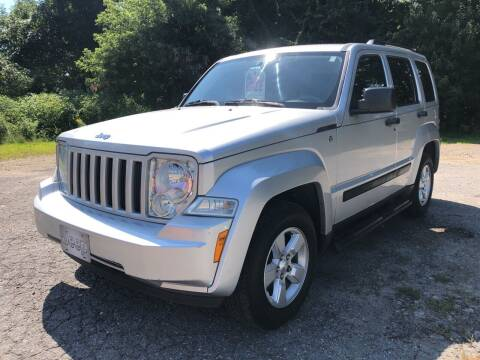 2009 Jeep Liberty for sale at Motuzas Automotive Inc. in Upton MA