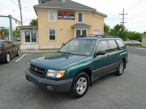 1998 Subaru Forester for sale at Top Gear Motors in Winchester VA