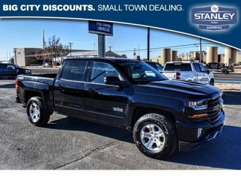 2017 Chevrolet Silverado 1500 for sale at STANLEY FORD ANDREWS in Andrews TX