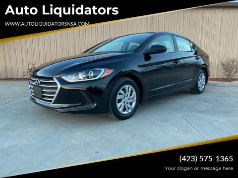 2017 Hyundai Elantra for sale at Auto Liquidators in Bluff City TN