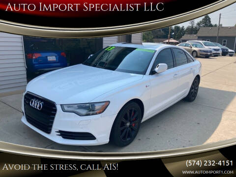 2013 Audi A6 for sale at Auto Import Specialist LLC in South Bend IN