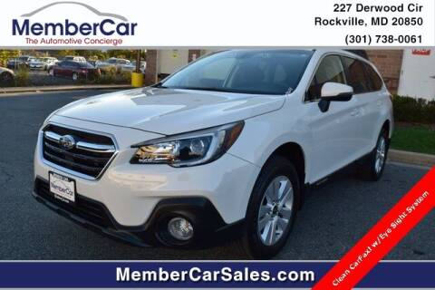 2018 Subaru Outback for sale at MemberCar in Rockville MD
