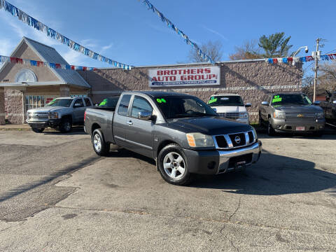 2004 Nissan Titan for sale at Brothers Auto Group in Youngstown OH