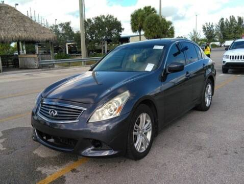 2012 Infiniti G37 Sedan for sale at JacksonvilleMotorMall.com in Jacksonville FL