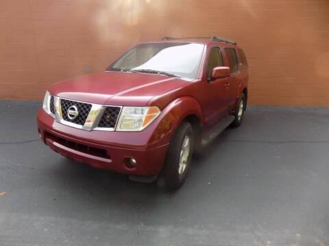 2006 Nissan Pathfinder for sale at S.S. Motors LLC in Dallas GA