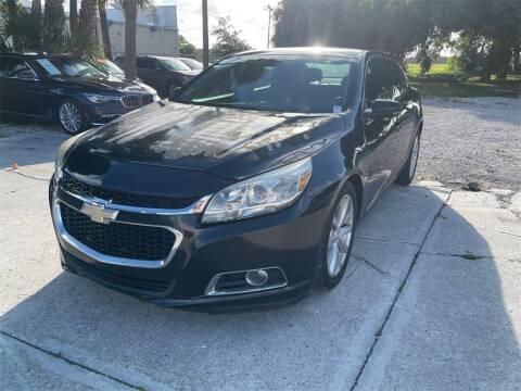 2015 Chevrolet Malibu for sale at Florida Fine Cars - West Palm Beach in West Palm Beach FL