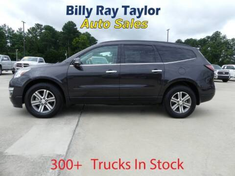 2017 Chevrolet Traverse for sale at Billy Ray Taylor Auto Sales in Cullman AL