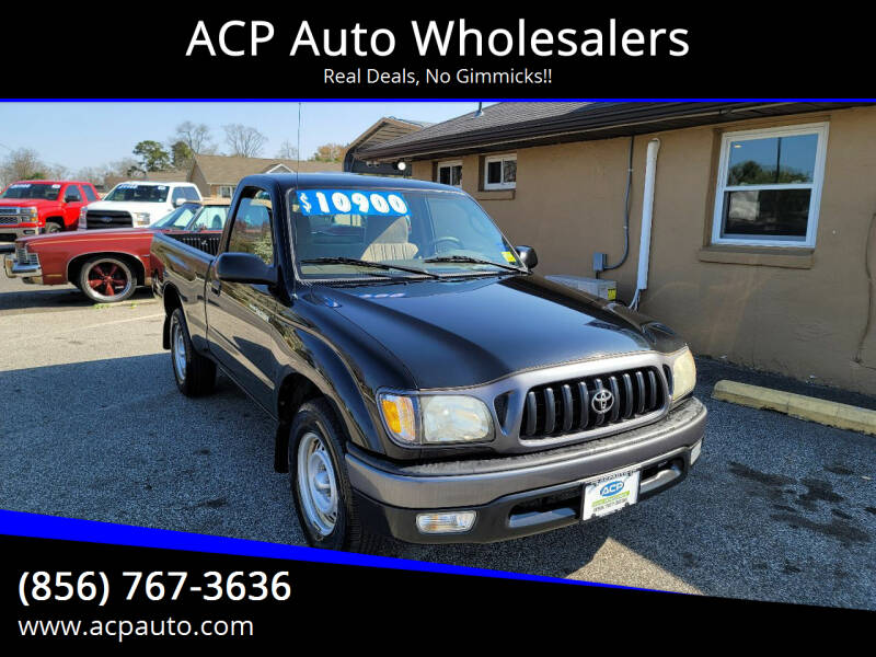 2004 Toyota Tacoma for sale at ACP Auto Wholesalers in Berlin NJ