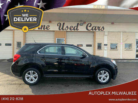 2012 Chevrolet Equinox for sale at Autoplex 2 in Milwaukee WI