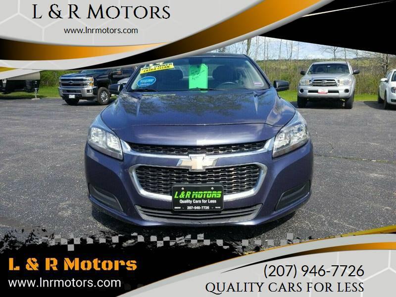 2014 Chevrolet Malibu for sale at L & R Motors in Greene ME