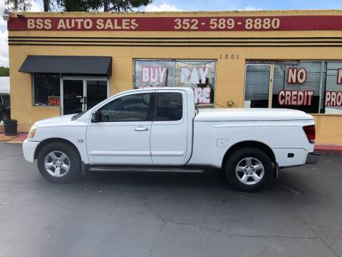 2004 Nissan Titan for sale at BSS AUTO SALES INC in Eustis FL