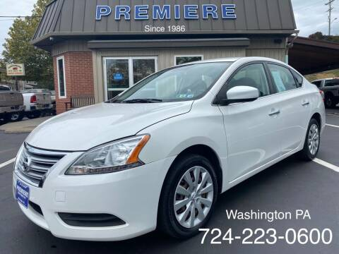 2014 Nissan Sentra for sale at Premiere Auto Sales in Washington PA