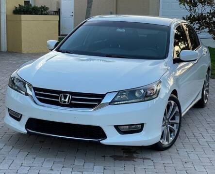 2014 Honda Accord for sale at Dad's Auto Sales in Newport News VA