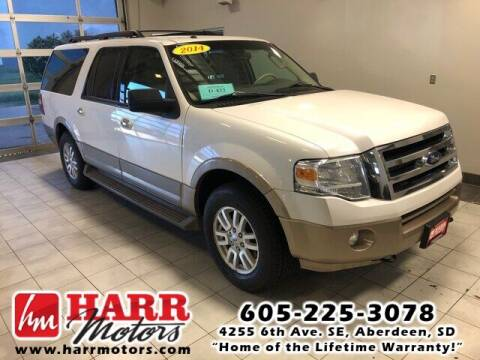 2014 Ford Expedition EL for sale at Harr Motors Bargain Center in Aberdeen SD