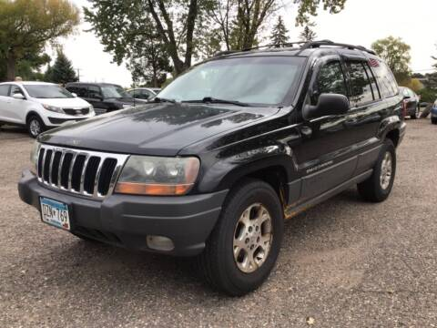 2000 Jeep Grand Cherokee for sale at Sparkle Auto Sales in Maplewood MN