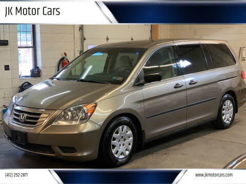 2008 Honda Odyssey for sale at JK Motor Cars in Pittsburgh PA