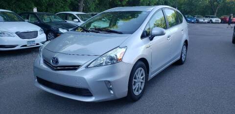 2012 Toyota Prius v for sale at Fleet Automotive LLC in Maplewood MN