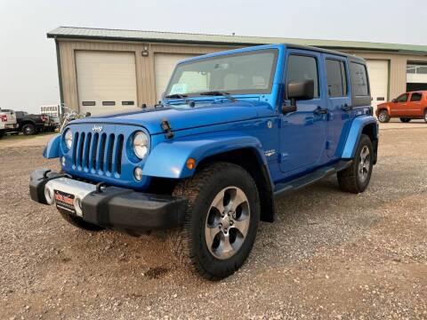 2015 Jeep Wrangler Unlimited for sale at Northern Car Brokers in Belle Fourche SD