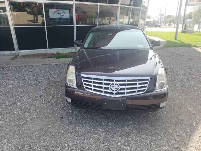 2008 Cadillac DTS for sale at Fansy Cars in Mount Morris MI