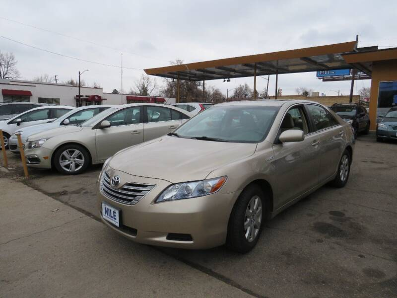 2008 Toyota Camry Hybrid for sale at Nile Auto Sales in Denver CO
