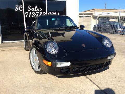 1997 Porsche 911 for sale at SC SALES INC in Houston TX