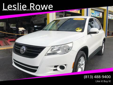 2011 Volkswagen Tiguan for sale at RoMicco Cars and Trucks in Tampa FL