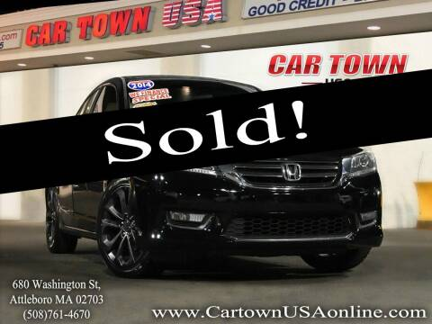 2014 Honda Accord for sale at Car Town USA in Attleboro MA