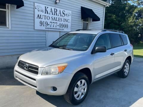 2007 Toyota RAV4 for sale at Karas Auto Sales Inc. in Sanford NC