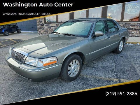 2003 Mercury Grand Marquis for sale at Washington Auto Center in Washington IA