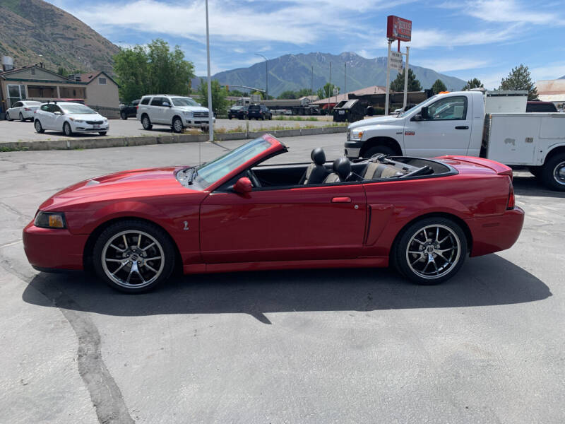 2004 Ford Mustang SVT Cobra for sale at Firehouse Auto Sales in Springville UT