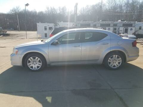2012 Dodge Avenger for sale at J.R.'s Truck & Auto Sales, Inc. in Butler PA