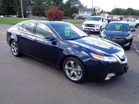 2009 Acura TL for sale at BETTER BUYS AUTO INC in East Windsor CT