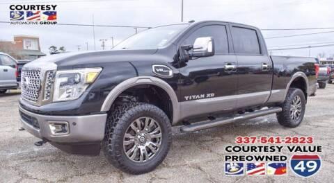 2017 Nissan Titan XD for sale at Courtesy Value Pre-Owned I-49 in Lafayette LA