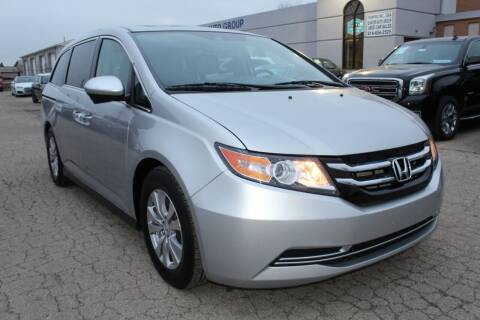 2015 Honda Odyssey for sale at SHAFER AUTO GROUP in Columbus OH