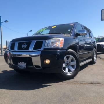 2007 Nissan Armada for sale at LUGO AUTO GROUP in Sacramento CA