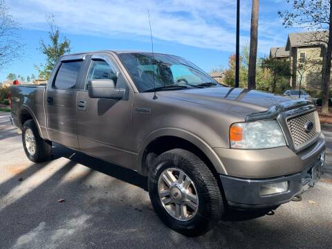 2005 Ford F-150 for sale at LA 12 Motors in Durham NC