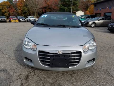 2004 Chrysler Sebring for sale at Official Auto Sales in Plaistow NH