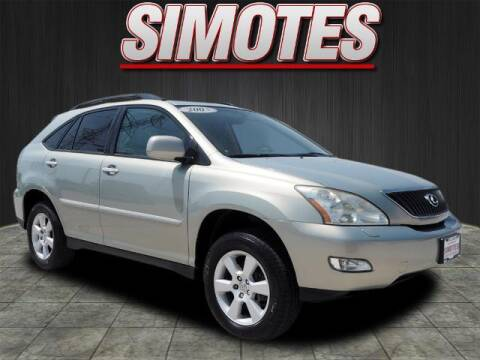 2005 Lexus RX 330 for sale at SIMOTES MOTORS in Minooka IL