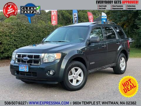 2008 Ford Escape Hybrid for sale at Auto Sales Express in Whitman MA