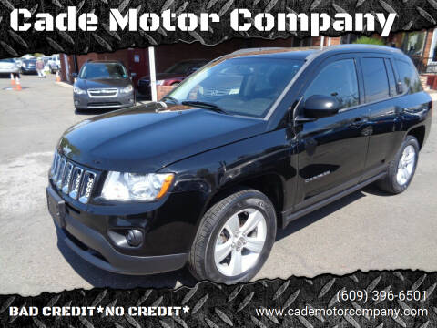 2013 Jeep Compass for sale at Cade Motor Company in Lawrenceville NJ