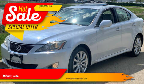 2007 Lexus IS 250 for sale at Midwest Auto in Naperville IL