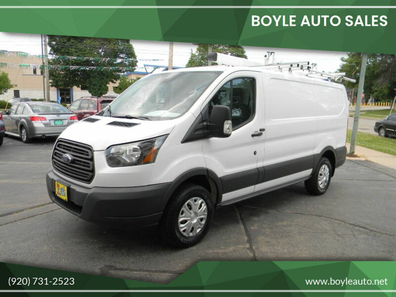 2016 Ford Transit Cargo for sale at Boyle Auto Sales in Appleton WI