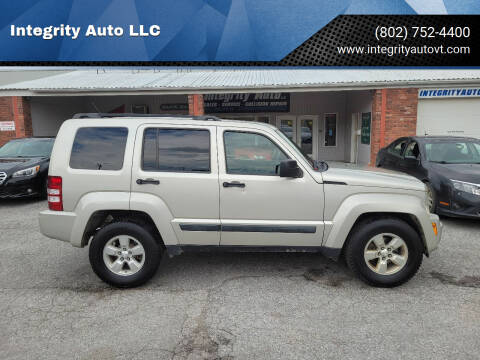 2009 Jeep Liberty for sale at Integrity Auto LLC - Integrity Auto 2.0 in St. Albans VT