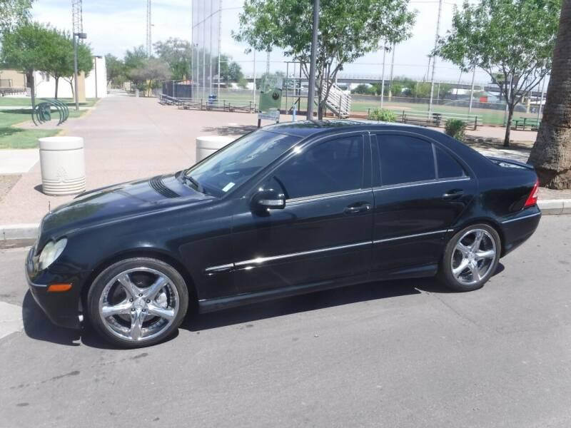 2007 Mercedes-Benz C-Class for sale at J & E Auto Sales in Phoenix AZ